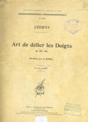Art De Delier Les Doigts N°9340 Op. 699 - 740 - Couverture - Format classique