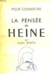 La Pensee De Heine - Couverture - Format classique