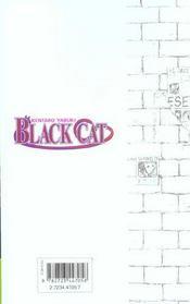 Black cat t.10 ; transfo et puis - 4ème de couverture - Format classique