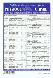 Problemes Et Exercices Corriges Avec Auto-Tests De Physique Concours Agro Et Veto Tome 2 1995-1997 - 4ème de couverture - Format classique