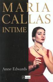 Maria callas intime - Intérieur - Format classique