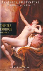 Theatre erotique t.1 - Couverture - Format classique