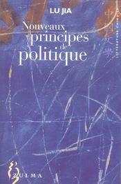 Nouveaux Principes De Politique - Intérieur - Format classique