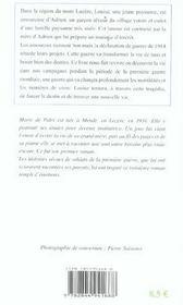 Sentier Aride (Le) - 4ème de couverture - Format classique