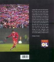 Olympique lyonnais ; le livre officiel 2003-2004 - 4ème de couverture - Format classique