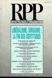 Revue Pol Et Parl. N°943 - Couverture - Format classique