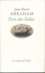 Port-du-salut - Couverture - Format classique