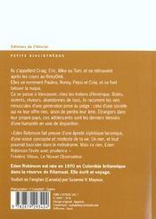 Reine Du Nord (La) - 4ème de couverture - Format classique