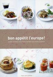 Bon appetit l'Europe ! - Intérieur - Format classique
