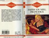 Faites Un Voeu Francesca - Winter Wishes - Couverture - Format classique