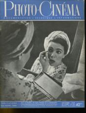 PHOTO CINEMA N°566 - 28e ANNEE - Couverture - Format classique