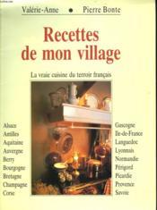 Recettes De Mon Village - Couverture - Format classique