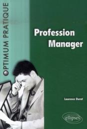 Profession manager - Couverture - Format classique