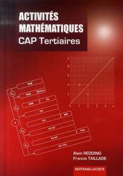 Activités mathématiques ; cap tertiaires - Intérieur - Format classique