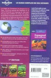 Équateur et les îles galapagos - 4ème de couverture - Format classique