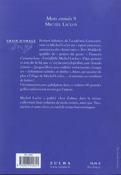 Mots croisés t.9 - 4ème de couverture - Format classique