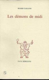 Demons De Midi (Les) - Couverture - Format classique