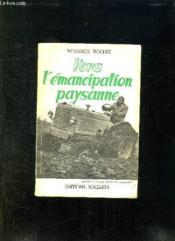 Vers L Emancipation Paysanne. - Couverture - Format classique