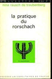 La Pratique Du Rorschach - Couverture - Format classique