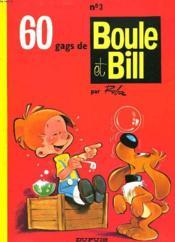 60 Gags De Boule Et Bill. N°3. - Couverture - Format classique