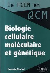 Biologie cellulaire, moléculaire et génétique - Intérieur - Format classique