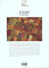 Le Maroc vu d'en haut - 4ème de couverture - Format classique