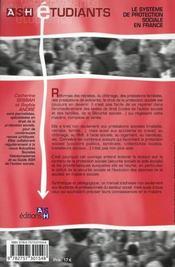 Systeme De Protection Sociale 2eme Edition - 4ème de couverture - Format classique