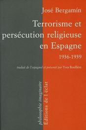 Terrorisme et persécution religieuse en Espagne, 1936/39 - Intérieur - Format classique