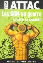 Les Ogm En Guerre Contre La Societe - Intérieur - Format classique