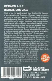 Bartali Zig Zag - 4ème de couverture - Format classique