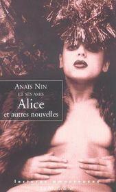 Alice et autres nouvelles - Intérieur - Format classique