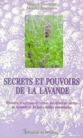Secrets Et Pouvoirs De La Lavande - Couverture - Format classique