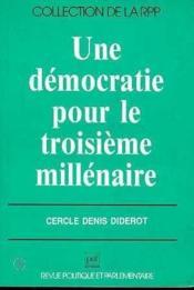 Democratie Pour Le 3e Millenaire - Couverture - Format classique