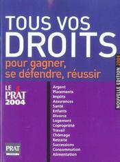 Tous Vos Droits 2004 - Intérieur - Format classique
