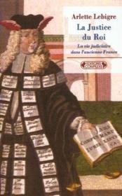 La Justice Du Roi - Couverture - Format classique