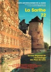 Carte Archeologique De La Gaule T.72 ; Sarthe - Couverture - Format classique