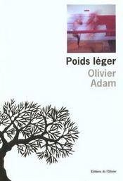 Poids Leger - Intérieur - Format classique