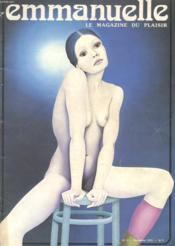 Emmanuelle - Le Magazine Du Plaisir - N°3 - Decembre 1974 - Couverture - Format classique