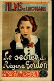 Films Et Romans - Le Secret Et Regina Gordon - 2eme Annee - N°29 - Couverture - Format classique