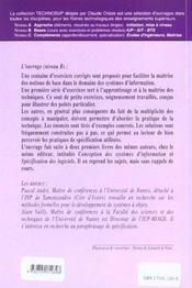 Genie Logiciel Exercices Corriges De Conception Logicielle Modelisation Des Systemes D'Information - 4ème de couverture - Format classique