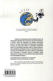 Mouvement pour la destruction de la planète (et rapidos) - 4ème de couverture - Format classique