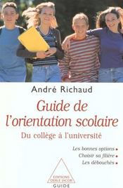 Guide De L'Orientation Scolaire - Intérieur - Format classique