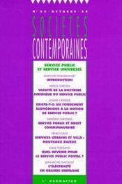 Service public et service universel - Couverture - Format classique