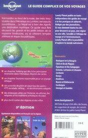 Nepal (5e edition) - 4ème de couverture - Format classique