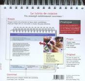 Mes Recettes Savoureuses ; Le Lutrin De Cuisine - 4ème de couverture - Format classique