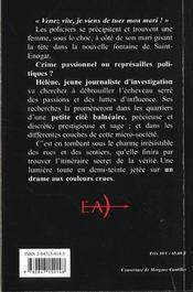 Helene et la fontaine noire - 4ème de couverture - Format classique