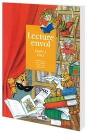 Lecture Envol ; Cm1 ; Livre De L'Elève - Couverture - Format classique