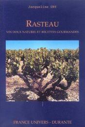 Rasteau Vin Doux Naturel Et Recttes Gourmandes - Intérieur - Format classique