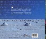 Itinérances : un périple autour du monde - 4ème de couverture - Format classique