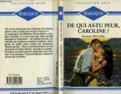 De Qui As Tu Peur Caroline ? - Trial By Love - Couverture - Format classique